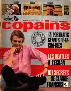 1000 images about salut les copains magazine on pinterest francoise hardy magazines and. Black Bedroom Furniture Sets. Home Design Ideas