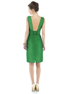 Bridesmaid dresses emerald kelly green wedding