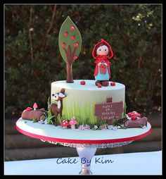 red riding hood cake | Flickr - Photo Sharing!