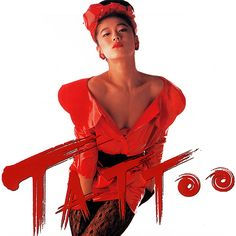 Akina Nakamori - TATTOO (1988) Pop Albums, I Go Crazy, Old Images, Conceptual Photography, Pose Reference, Album Covers, Pop Culture, Childhood, Wonder Woman