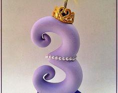 vela Princesa Sofia 12cm