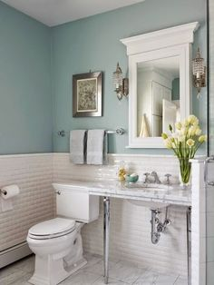 Simple ideas for creating a gorgeous master bathroom. Click to see!