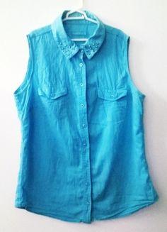 Kup mój przedmiot na #Vinted http://www.vinted.pl/kobiety/koszule/9004981-niebieska-koszula-terranova-l