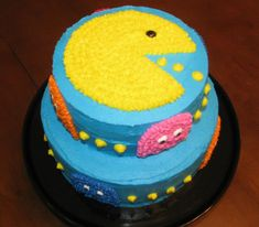 pac man cake - Google Search
