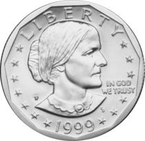 Susan B. Anthony Dollar Coins