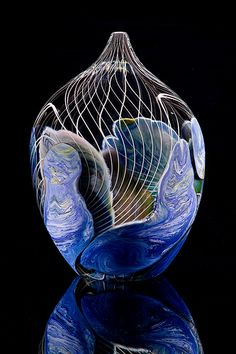 Jon Goldberg Art Glass Deep Ordinate
