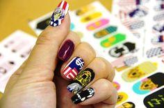 trying designer nail wraps 爪にシールを貼るってどうなの?最近話題のオシャレなネイルシール『ncLA』を使ってみたよ!