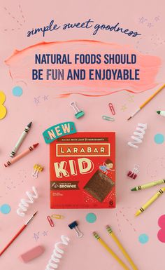 Send them back to school with snack that's simple, delicious and made using nothing but the good stuff. Available in two mouthwatering flavors — Chocolate Brownie and Chocolate Mint Brownie — each LÄRABAR® KID is made gluten-free, GMO-free and made from j Party Desserts, No Bake Desserts, Dessert Recipes, Health Desserts, Yummy Recipes, Gluten Free Snacks, Healthy Snacks, Healthy Life, Chocolate Mint Brownies