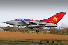 Royal Air Force Panavia Tornado GR4.