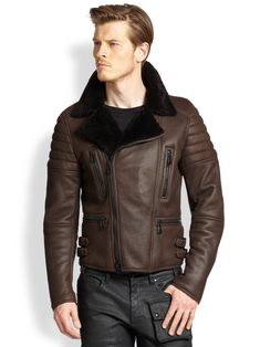 belstaff mens shearling jackets - Google Search