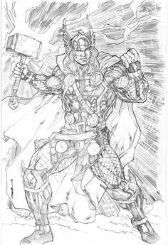Thor by Kevin Sharpe