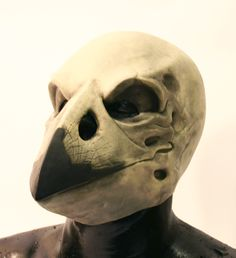 Crow skull latex mask. $29.95, via Etsy.