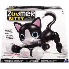 Bring Home Your PURRfect Friend With Zoomer Kitty Shes The Sweetest Interactive Who Loves