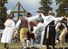 This is a traditional dance of Sweden, performed in the middle of nowhere, Kansas (Lindsborg). Lindsborg, Kansas is also known as Little Sweden, where the Swedish people in the United States can gather to try to preserve and revive their culture in the midst of America. Katie W
