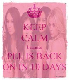 Keep Calm ~ Pretty Little Liars