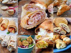 Antipasti veloci sfiziosi, congelabili, ricette con pasta sfoglia o senza, crocchette, polpette, focaccine, sfiziosità, biscotti salati, ricette semplici, feste e buffet