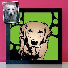 Personalisierte Hundebilder - Dein Hund als Pop Art Gemälde - witzige Bilder malen lassen, Geschenk für Hundebesitzer auf Poster Leinwand Funny Paintings, Pet Water Fountain, Pop Art Portraits, Gifts For Dog Owners, Retro, Your Dog, Funny Pictures, Canvas Prints, Dogs