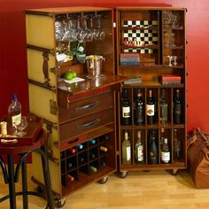Authentic Models Stateroom Bar | Houseology