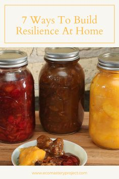 6 Ways To Build Resilience At Home Organic Gardening, Gardening Tips, Save Nature, Green Living Tips, Permaculture Design, Urban Homesteading, Living A Healthy Life, Learn To Cook, Sustainable Living