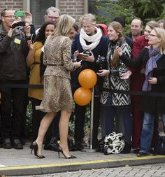 Reines & Princesses: Adore this shoe on Queen Maxima of Netherlands