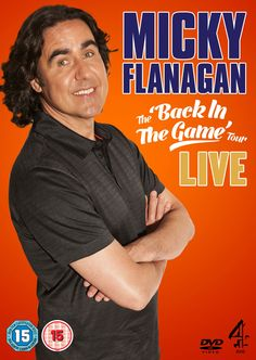 Micky Flanagan: Back in the Game Live [DVD]: Amazon.co.uk: Micky Flanagan: DVD & Blu-ray
