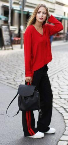 03951e88465e5 50+ Fashionable Outfit Ideas In Orange 30. Red Fashion ...