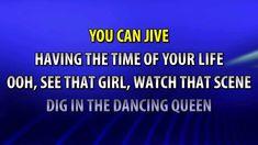 Dancing queen -Abba-Karaoke (no vocals)