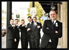 Capturing the spirit of the groomsmen by KDW Photos.  More here: http://snapknot.com/wedding-photographer/4775-KDW-Photos