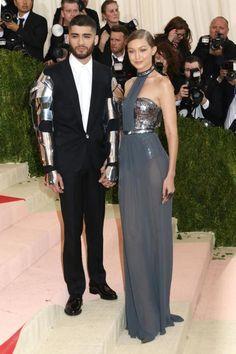 Best dressed couple, Met Gala 2016 #manusxmachina theme