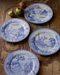 Asian Toile Dinnerware, 20-piece set now on sale for $23.90 at Horchow.