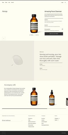 Website and minimalist branding with a gorgeous layout for a cosmetic brand. Informations About Aesop Skincare Web Design. Website an Web And App Design, Minimal Web Design, Web Design Trends, News Web Design, Web Design Quotes, Creative Web Design, Design Blog, Web Design Company, Page Design