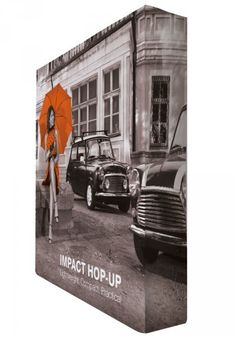 Ścianka reklamowa Hop-Up Impact 3x3