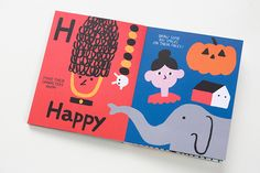 Illustrator Eleonora Marton has released her first publication: a distinctive, active and admirable take on the classic ABC book. _DIY ABC_ depicts Eleonora's joyful, personable style, but allows it to be appropriated by the child. Increasing engagement and helping them learn.