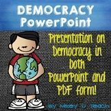 Democracy Bundle: PowerPoint and Guided Notes included!!! Pictures galore!