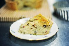 Fact: Real cowboys don't eat quiche. I've been making this deep-dish quiche—and variations of it—for about ten years. The first time I made… Quiche Recipes, Brunch Recipes, Breakfast Recipes, Breakfast Ideas, Crustless Quiche Lorraine, Egg Dish, Creamed Mushrooms, Breakfast Time, Kitchen Recipes