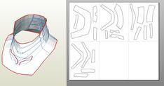 IRON MAN Mark 4/6 Pepakura FOAM Templates- *Video Tutorial Link in first Post*