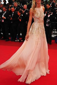 What a total dream this dress is: pink & gold (my favorites!) and covered up on top just how I like it :)