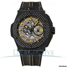 Hublot Big Bang Ferrari Ceramic Limited Edition of 1000 pieces - 401.CQ.0129.VR