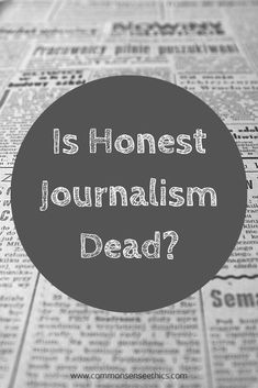 Why is there such lack of professionalism and ethics in journalism in recent years? #politics #media The Stoics, Tough Day, Common Sense, Honesty, Critical Thinking, Journalism, Announcement, Philosophy, Writer