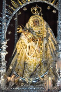 Virgen de Candelaria - patrona de Canarias (España)