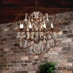 Crystal sphere chandelier orb chandelier with crystals home crystal sphere chandelier orb chandelier with crystals home dining room pinterest orb chandelier crystal sphere and chandeliers aloadofball Gallery