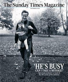The Sunday Times magazine celebrates 50 years - David Cameron