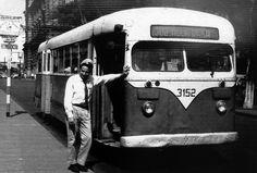 Trolleybus in Sao Paulo, Brazil - Circa 1960