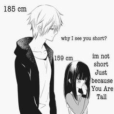 - Inu x boku ss - Tall Boy Short Girl, Tall Boys, Short Girls, Manga Couple, Anime Love Couple, Anime Couples Drawings, Anime Couples Manga, Tall Boyfriend Short Girlfriend, Short Girl Quotes