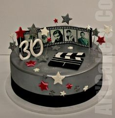 One of famous Hollywood movies themed cake
