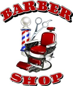 """Barber Shop Men's Hair Cuts Care Vinyl Sign for Window Storefront Van Decal 36"""" 