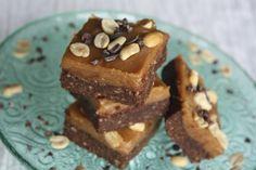 Chocolate peanut butter brownies #vegan #glutenfree #grainfree
