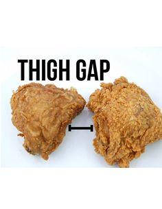 thigh gap!