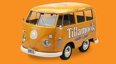 The Tillamook Baby Loaf bus. I would totally drive this - you could put a lot of cheese in the back!