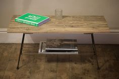 Coffee Table Made From Reclaimed Materials by ReclaimedEditions, £145.00 https://www.etsy.com/listing/126631663/coffee-table-made-from-reclaimed?ref=favs_view_8&atr_uid=34651111